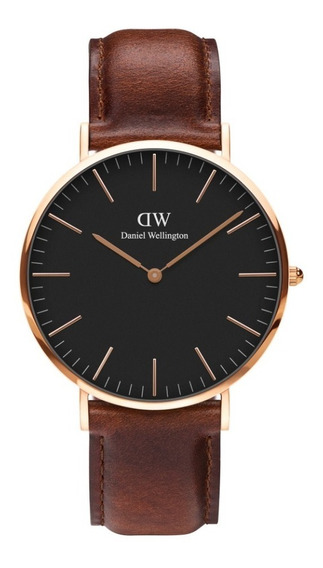 Reloj Unisex Daniel Wellington Classic 40 St Mawes Rg Black