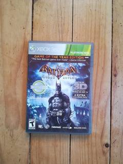 Batman Arkhan Asylum Xbox 360 Usado