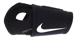 Muñequera Nike Unisex Negro Nike Pro Combat Nmz09010os