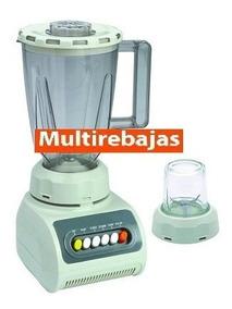 Potente Licuadora Batidora Mezclador Gratis Picatodo Multius