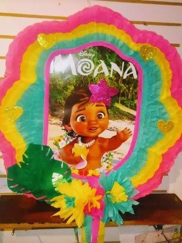 Piñata De Moana Bebé Por Encargo