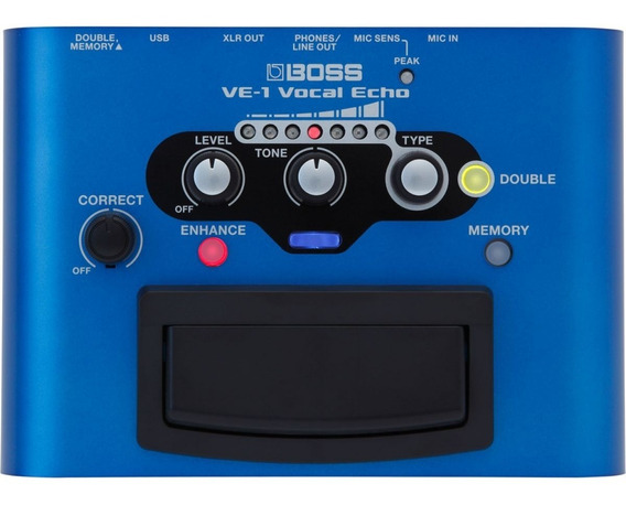 Pedal Boss Ve-1 Vocal Echo Musical Store