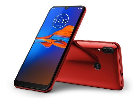 Celular Moto E6 Plus - Rojo