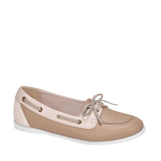 Zapato Confort Shosh 4126 Cof 825124 Antiderrapante Piel