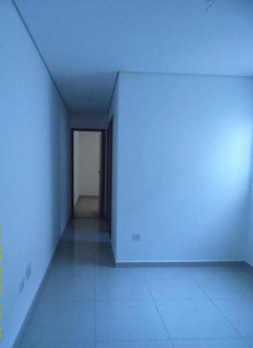 Imagem 1 de 6 de Apartamento Com 2 Dormitórios À Venda, 52 M² Por R$ 265.000 - Jardim Santo Alberto - Santo André/sp - Ap2178