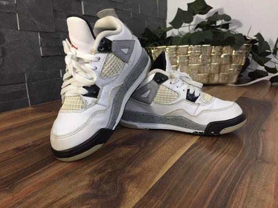Tenis Jordan 4 Retro Infantil 100% Originales + Envío Grati