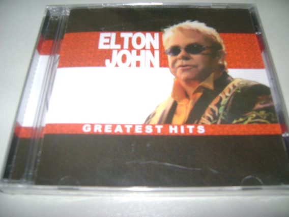 Cd Elton John Greatest Hits ! Original !