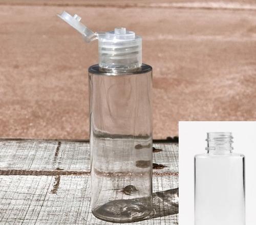 Imagen 1 de 2 de Envase Pet 60 Cc,  Jabón, Shampoo,  Alc, Disk Top (x 60)