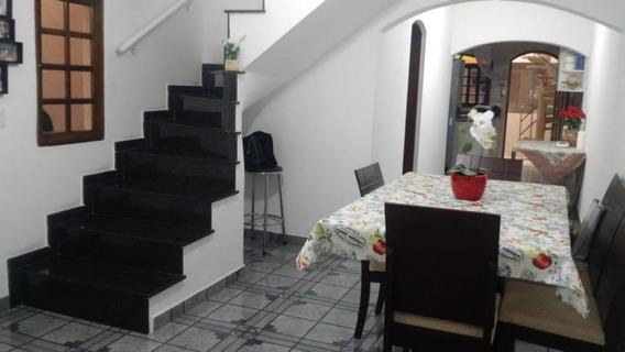 Sobrado Em Itaquera, São Paulo/sp De 125m² 4 Quartos À Venda Por R$ 600.000,00 - So328884