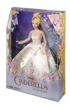 Barbie Boneca Disney Cinderela Noiva-filme