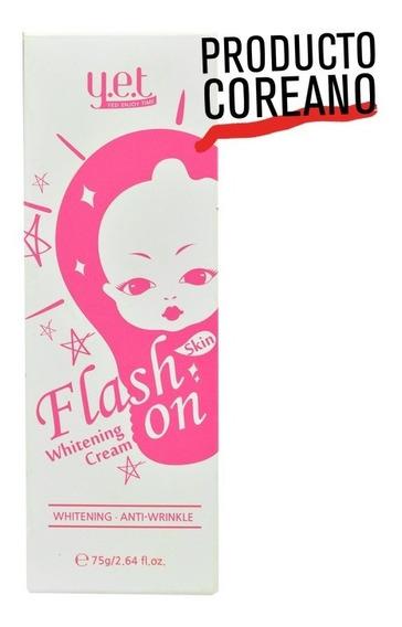 Crema Aclaradora Instantánea Flash On(envio Gratis)