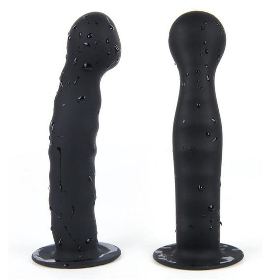 Plug Anal Dildo De Silicone Luxo Vaginal Ponto G