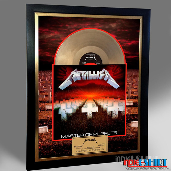 Cuadro Decorativo Metallica Master Of Puppets Pantera Lp