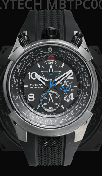 Relógio Masculino Orient Flytech Mbtpc 003