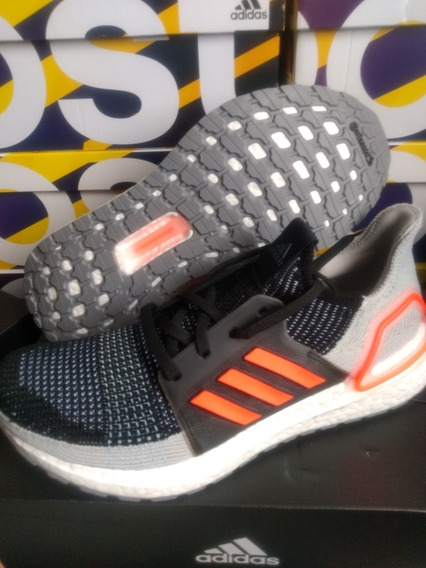 Tênis adidas Ultraboost 19 Tam 41 Original Solar Orange!!!