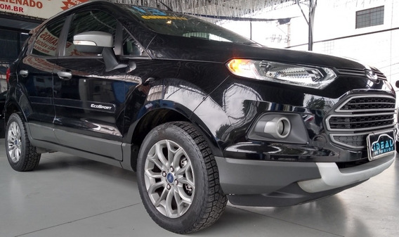 Ford Ecosport Freestyle Preto 1.6/16v 2012-2013