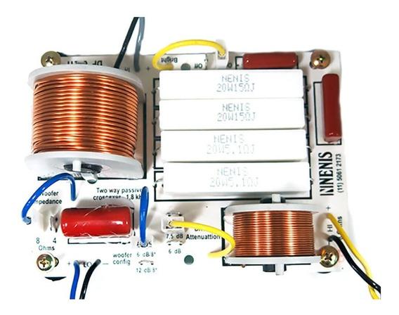 Divisor De Frequência Df652ti Nenis 2 Vias 650 Watts Driver