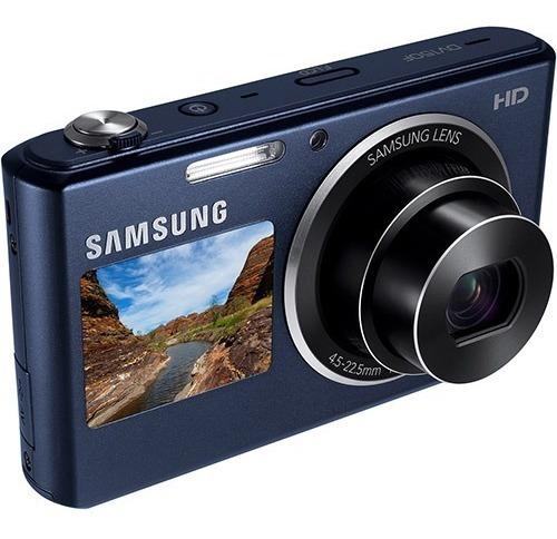 Câmera Digital Samsung Dv150f 16.2 Mp Tela Principal: 2.7