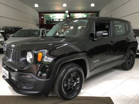 Jeep Renegade Custom 1.8 4x2 Mecanico 2018 Preto Flex