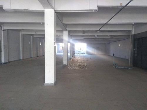 Prédio Para Alugar, 4600 M² Por R$ 70.000,00/mês - Brás - São Paulo/sp - Pr0105