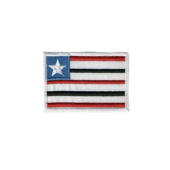 Bordado Termocolante Bandeira Maranhão Patche Termocolante