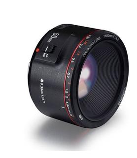 Lente Yongnuo 50mm F1.8 Ii Para Canon Nueva Versión