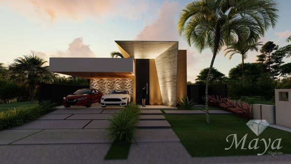 Casa 3 Suítes, 206 M² C/ Lazer No Condomínio Alphaville I - Ca0180