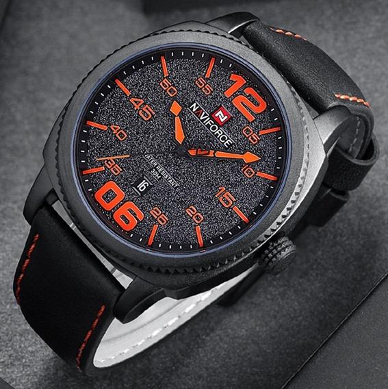 Relógio Masculino Naviforce 9127 De Pulso Original Barato