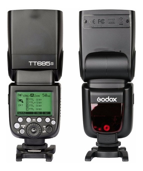 Flash Speedlight Godox Tt685s Ttl Para Cameras Dslr Sony