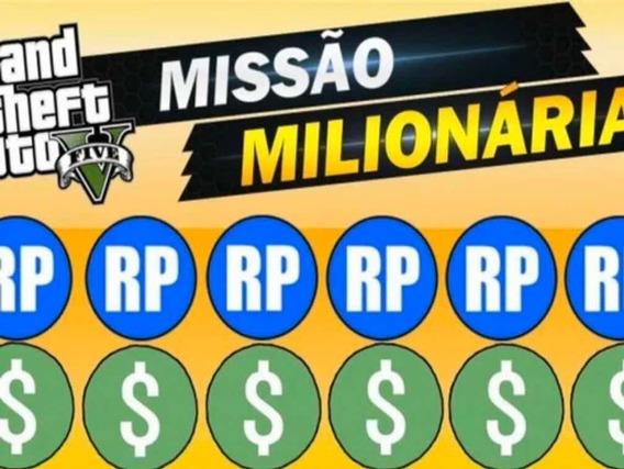 Gta V Money Dinheiro 5 Milhões(dinheiro E Rp Gta V Missão )