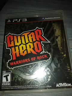 Videojuego Guitar Hero Warriors Of Rock Para Ps3 Original