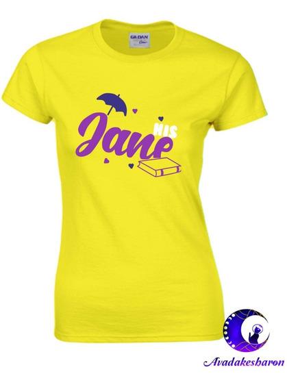 Camiseta Estampada De Tarzan Y Jane Disney Parejas