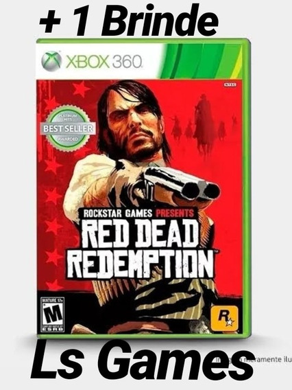 Red Dead Redemption Midia Digital Xbox 360/one + Brinde