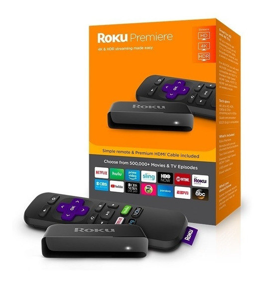 Roku Premier 4k (60v) Modelo 3920r Streaming - Amazon Google