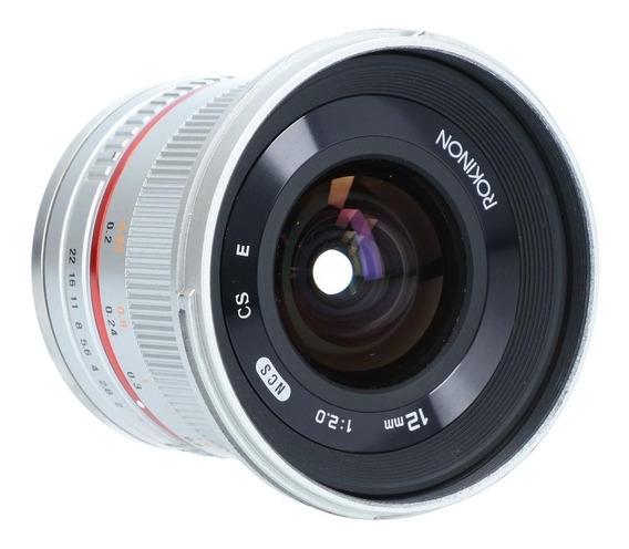 Rokinon 12mm F/2.0 Grande Angular Para Cameras Sony