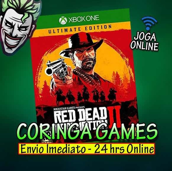 Red Dead Redemption 2 Ultimate Edition Xbox One + 2 Brinde