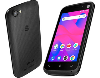 Smartphone Blu Advance L4 Android 8.1 Tela 4.0 Flash Frontal