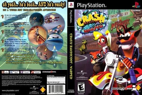 Crash Bandicoot 3 Warped Para Playstation 1 - Patch
