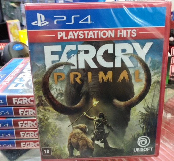 Far Cry Primal Ps4 Mídia Física Novo Lacrado Pronta Entrega