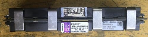 Imagem 1 de 4 de Memória Kingston 8gb 2x4gb Ddr2 667 Pc2 5300f Ecc Mac Pro
