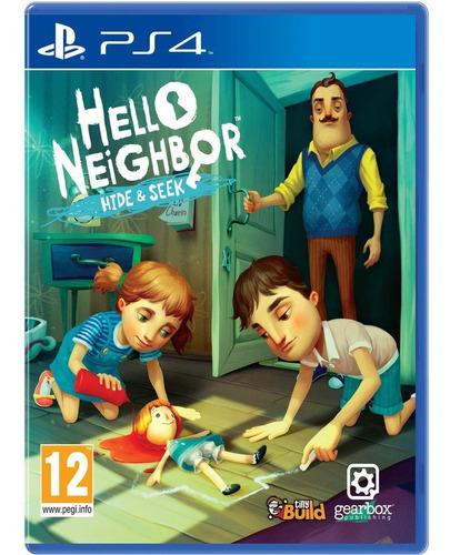 Ps4 Hello Neighbor Hide & Seek / Fisico
