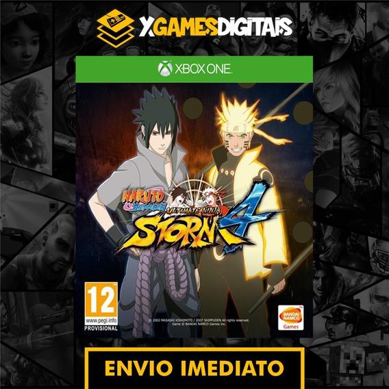 Naruto Ninja Storm 4 Xbox One Midia Digital + 1 Jogo Brinde