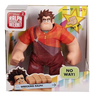 Muñeco Figura Ralph El Demoledor 30cm Interactivo Original!!