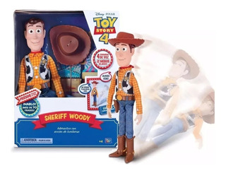 Toy Story 4 Woody Animatronico Se Cae 70 Frases Original
