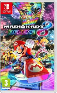 Mario Kart 8 Deluxe Nintendo Switch Nuevo Original Sellado