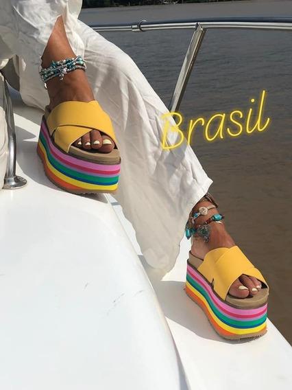 Sandalias Mujer Plataformas Art Brasil