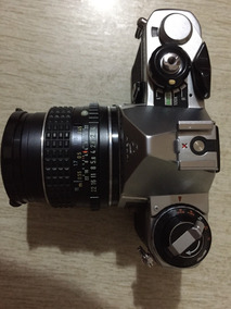 Camera Pentax Me, Com Mais 6 Lentes (diversas) Imperdivel