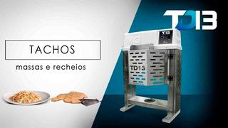 Tacho Masseira Td13 Produz Massas E Recheios