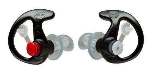 Protetor Auricular Surefire Ep4 Sonic Defender - Tam M Preto