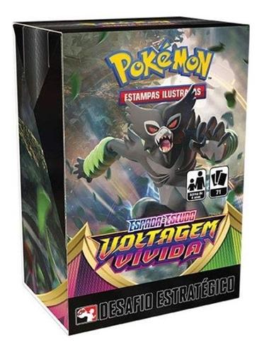 Desafio Estratégico Voltagem Vívida Ee4 - Pokémon